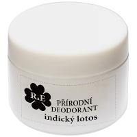 RAE Přírodní krémový deodorant indický lotos plastový kelímek 15 ml