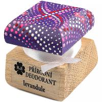 RAE Přírodní krémový deodorant levandule barevná krabička 15 ml
