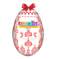TEREZIA Rakytníček+ želatinky velikonoční vejce bílé 50 ks