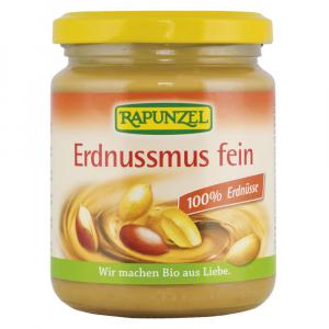 RAPUNZEL100% arašídová pasta jemná BIO 250 g