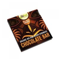 Raw čokoláda z nepraženého kakaa BIO 95% kakao se skořicí 35g