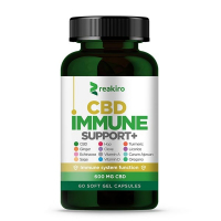 REAKIRO CBD Kapsle na podporu imunity 600 mg 60 ks