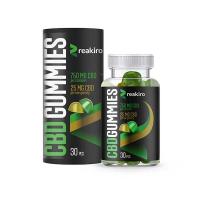 REAKIRO Gummies CBD 750 mg 30 kusů