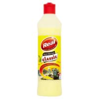 REAL Classic Tekutý čisticí krém univerzální Lemon 600 g
