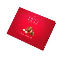 RED Bonboniera bez přidaného cukru pralinky s lískovými oříšky 132 g