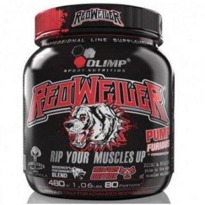 Redweiler, předtréninková stimulační směs, 480 g, Olimp - Red Punch