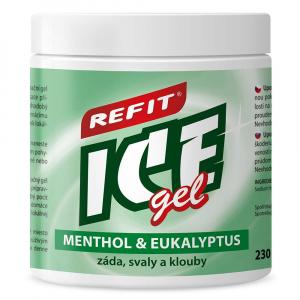 Refit Ice masážní gel s eukalyp.+menthol.220ml