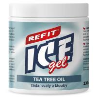 Refit Ice masážní gel s tea tree oil 230 ml