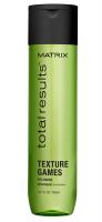 MATRIX Total Results Texture Games Regenerační stylingový šampon 300 ml