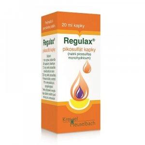 REGULAX Pikosulfát kapky 150 mg 20 ml