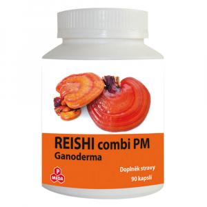 PURUS MEDA Reishi combi (Ganoderma) 90 kapslí