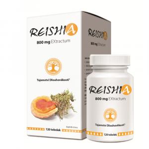 REISHIA 800 mg EXtractum 120 tobolek