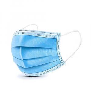 GENERAL PUBLIC 50 kusů Zdravotnická obličejová rouška s gumičkami 3 vrstvá