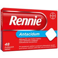 RENNIE Žvýkací tablety 48 tablet