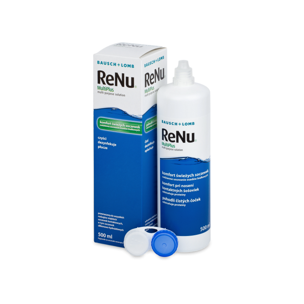 RENU MultiPlus roztok na kontaktní čočky 500 ml