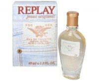 Replay Jeans Original For Her - toaletní voda s rozprašovačem 40 ml