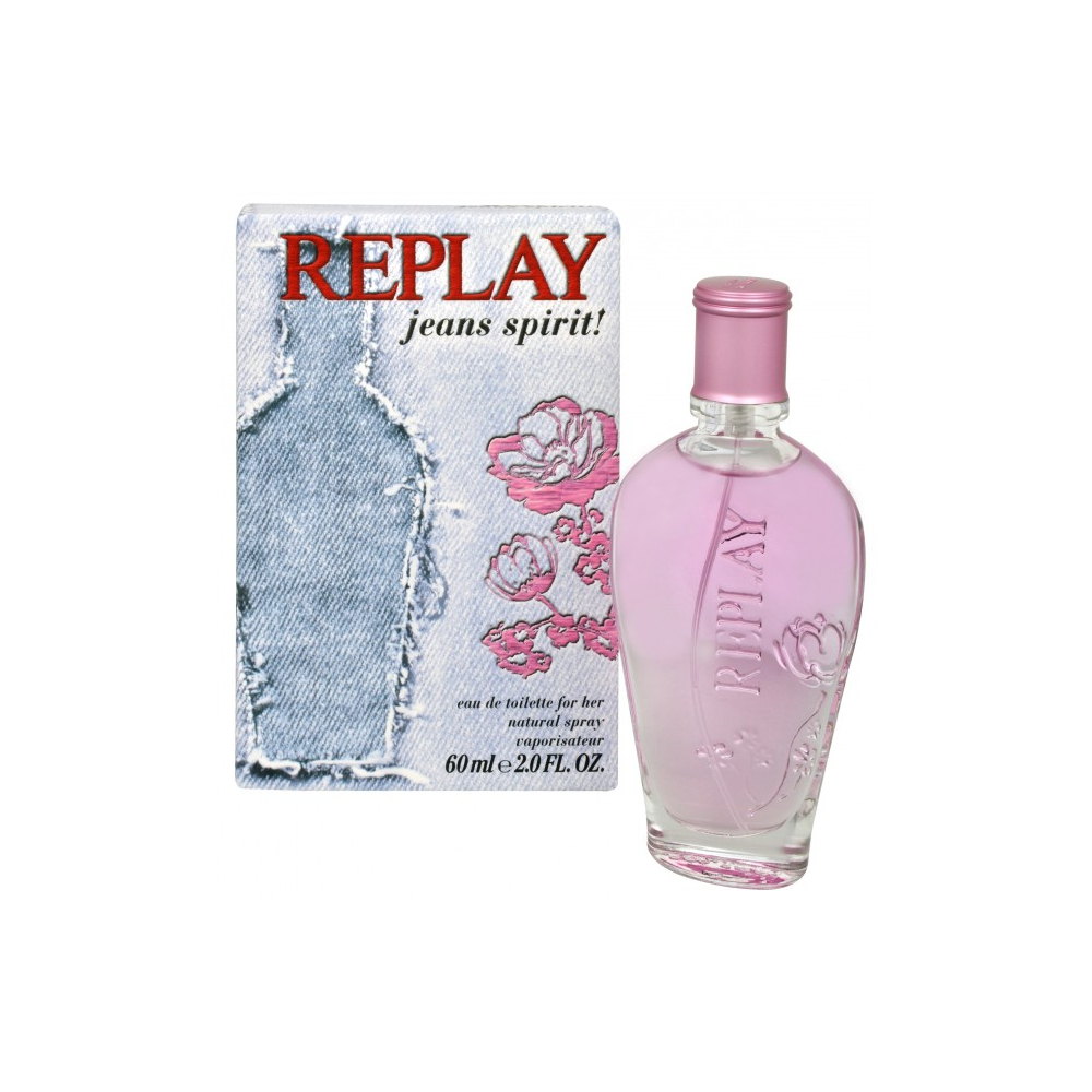 Replay Jeans Spirit For Her - toaletní voda s rozprašovačem 20 ml
