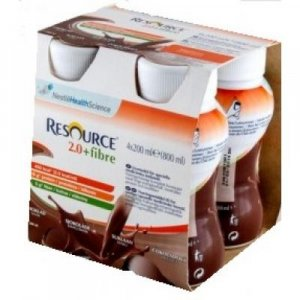 RESOURCE 2.0 Fibre Čokoládový 4 x 200 ml