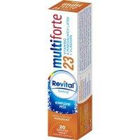 REVITAL Multi Forte Pomeranč 20 šumivých tablet