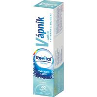 REVITAL Vápník - Hořčík - Vitamíny 20 šumivých tablet