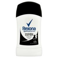 REXONA Invisible Black&White tuhý deodorant 40 ml