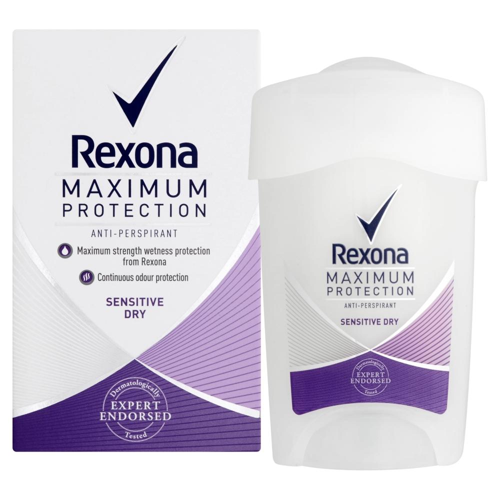 REXONA Maximum Protection Tuhý deodorant Sensitive Dry 45 ml