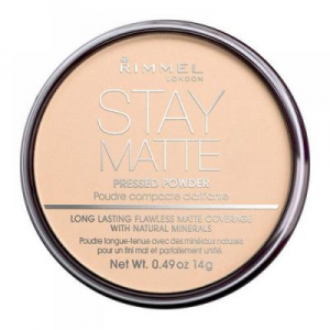 Rimmel London Stay Matte Long Lasting Pressed Powder 14g 003 Peach Glow