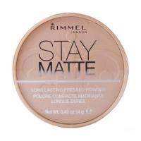 RIMMEL London Stay Matte Long Lasting Pressed Powder 14 g 009 Amber