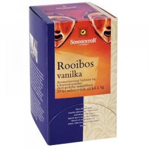 Rooibos vanilka bio porc. dárkový 20g