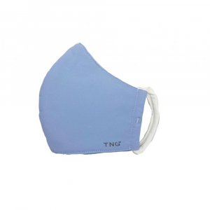TNG Rouška textilní 3-vrstvá světle modrá velikost L 5 kusů