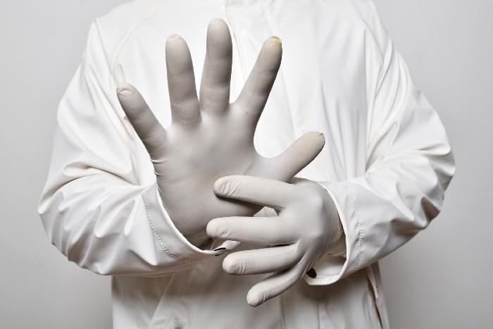 Rukavice a koronavirus