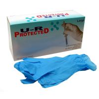 U-R Protected rukavice nitrilové bezprašné velikost L100 kusů