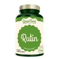 GREENFOOD NUTRITION Rutin 60 kapslí