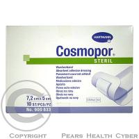 Rychloobvaz Cosmopor sterilní 7.2x5cm/10ks