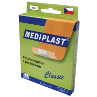 Rychloobvaz Mediplast 8 cmx1 m textilní 1 ks