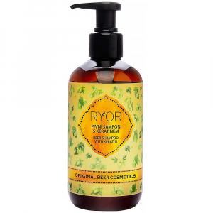 RYOR Pivní šampon s keratinem 200 ml