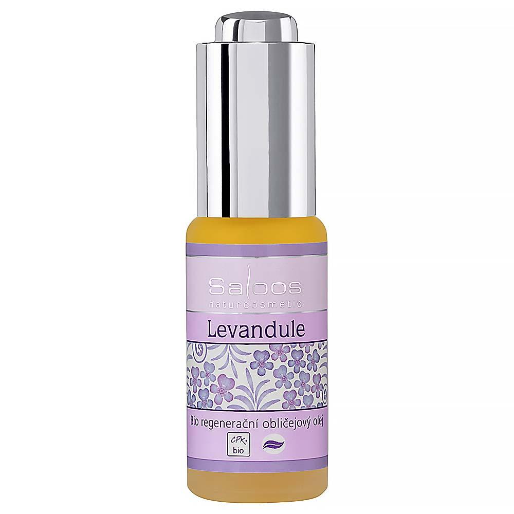 Saloos Regenerační obličejový olej Levandule 20 ml