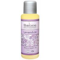 SALOOS Tělový a masážní olej Levandule BIO 50 ml