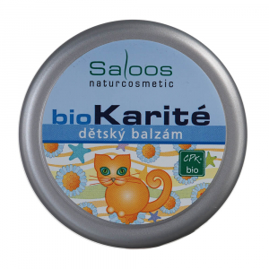 SALOOS BioKarité Dětský balzám 50 ml