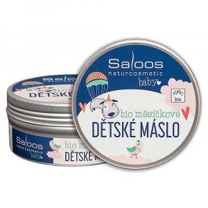 SALOOS Šlehané máslo Měsíčkové dětské BIO 150 ml