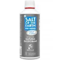 SALT OF THE EARTH Přírodní minerální deodorant Pure Amour Vetiver & Citrus pro muže náhradní náplň 500 ml