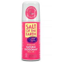 SALT OF THE EARTH Přírodní minerální deodorant rolll-on Pure Aura Levandule, Vanilka 75 ml