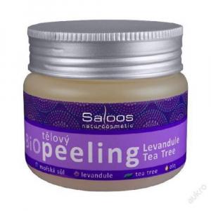 SALOOS Tělový Bio Peeling Levandule & Tea Tree 140 ml