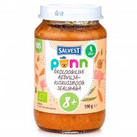 SALVEST Põnn Vepřové maso s kuskusem a zeleninou od 8.měsíce BIO 190 g