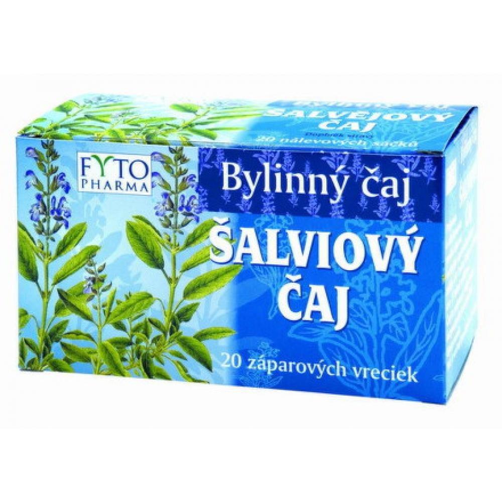 Šalvějový čaj 20 x 1g Fytopharma
