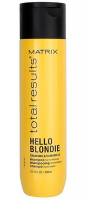 MATRIX Total Results Hello Blondie Šampon pro oživení blond vlasů 300 ml