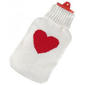 SANITY Termofor v obalu pulovr srdce 2 l