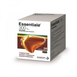 SANOFI Essentiale 300 mg 100 tvrdých tobolek
