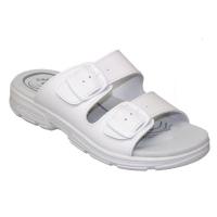SANTÉ Dámské pantofle bílé 1 pár, Velikost obuvi: 36