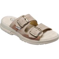 SANTÉ Dámské pantofle béžové 1 pár, Velikost obuvi: Velikost obuvi 35